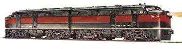 Williams By Bachmann Rock Island Alco Fa2 Aa  O Scale Diesel Locomotive Set Aa Diesel Locomotive