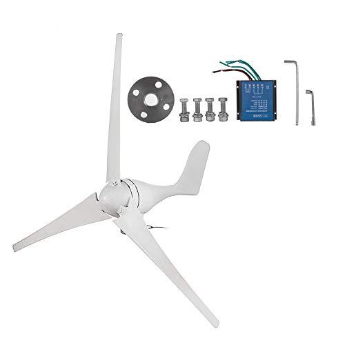 SHZOND Wind Generator 400W Hybrid Wind Turbine Generator DC 12V/24V Turbine Wind Generator 3 Blades 20A Wind Generator Kit (Best Generator For Wind Turbine)