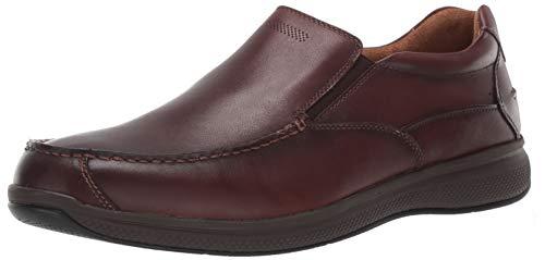 Florsheim Men's Ontario Casual Moc Toe Slip On Oxford, Brown, 7.5 Medium