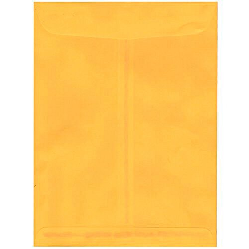 jam-paper-9-x-12-open-end-envelopes-with-gum-closure-sunflower-yellow-gold-10-pack