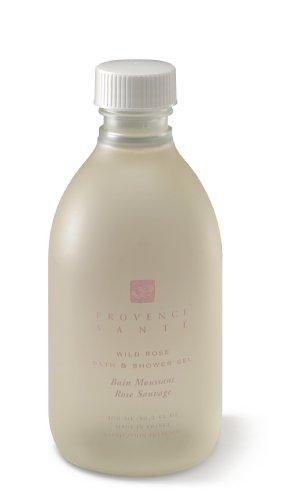 Provence Sante PS Shower Gel Wild Rose, 10.2oz Bottle