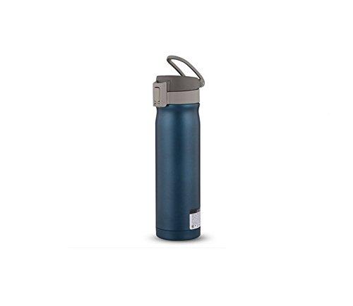 【値下げ】 teahooフラスコステンレススチールスポーツウォーターボトルハンドル真空カップ、500 ml B01M8NKFK9 1205A ブルー 1205A ブルー ブルー B01M8NKFK9, 千代の松<創作足袋>:3dd1cf8f --- womaniyya.com