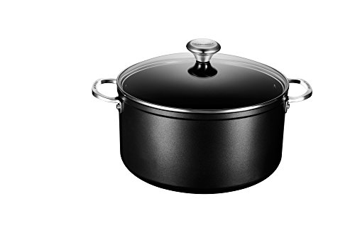 Le Creuset of America Toughened NonStick Stockpot with Lid, 9 1/3 quart by Le Creuset