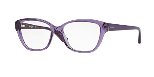 Vogue VO 2835F Women's Eyeglasses Transparent Violet 53