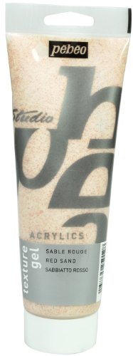 pebeo-studio-acrylics-auxiliaries-250ml-sand-texture-gel-red-tube