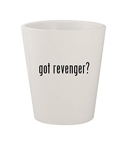 got revenger? - Ceramic White 1.5oz Shot Glass