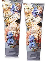 Bath and Body Works 2 Pack Almond Blossom Ultra Shea Body Cream 8 ()