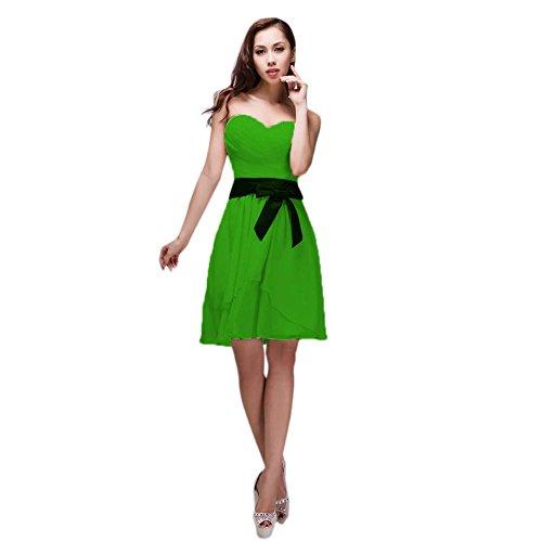 Vimans -  Vestito  - linea ad a - Donna verde fluorescente 46