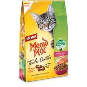 Meow Mix Tender Centers Salmon & Turkey Flavors with Vitality Bursts Cat Food, 13.5 lbs by Meow