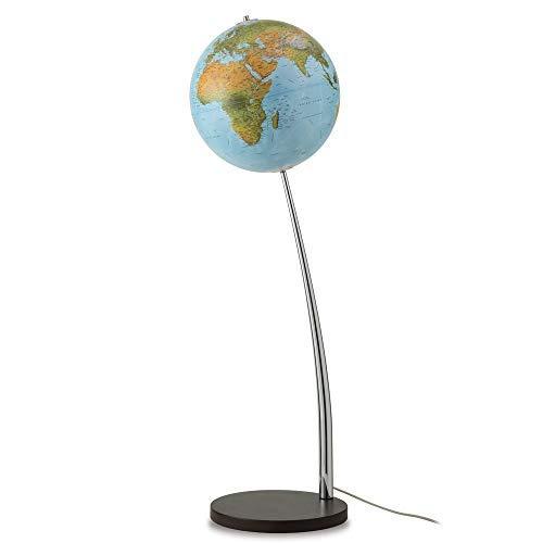 Waypoint Geographic Vertigo 15-inch Illuminated Blue Oceans Floor Standing Globe -