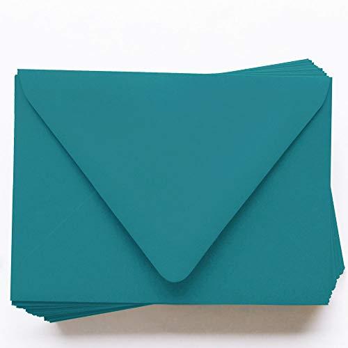 A9 Gmund Colors Matt Aqua Blue Envelopes - Euro Flap, 81T, 25 - 120gsm Matt