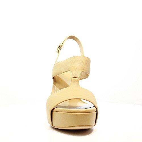 6045 Colección 2016 Tacón nbsp;6045b De Barachini Zapatos Natural Primavera Nueva Mujer Sandalias Luciano Verano vqO6aw4A