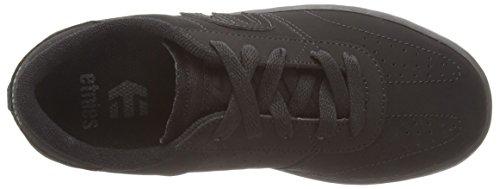 Etnies Lo-Cut - Zapatillas de skateboarding de cuero para niño negro - negro