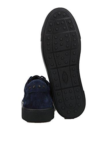 Tod's Sneakers Uomo XXM56A0V430RE0U820 Camoscio Blu Venta Barata Obtener Auténtica Venta Finishline Baúl Salida De Precio Más Barato Muchos Tipos De Línea Barata LewGT3Lxh