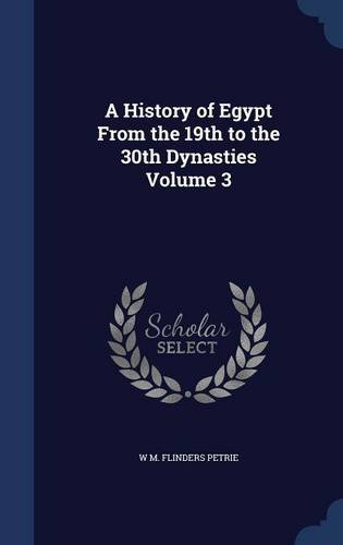 Download A History of Egypt From the 19th to the 30th Dynasties Volume 3 pdf epub