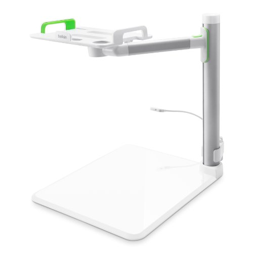 Belkin B2B054 Tablet Stage Stand for Presenters and Lecturers for Tablets from 7-11 Inches Including All Generations of iPad, iPad mini and iPad Air, Designed for School and Classroom by Belkin (Image #1)