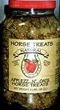 RJ Matthews All Natural Horse Treats, Applezz N Oats, 3 Pound Bag