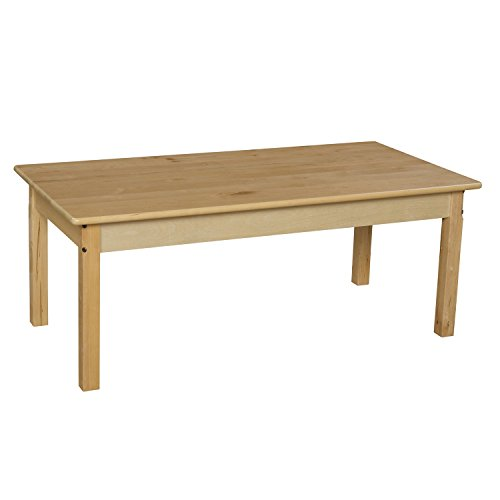 Wood Designs WD84818 24'' x 48'' Rectangle with 18'' Legs by Wood Designs