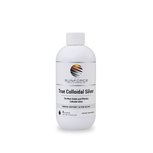 True Colloidal Silver Dietary Supplement - 10 ppm Silver for Immune Support
