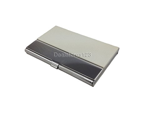 Dealstores123 by only steel 14 Dealstores123 Wallet Card Business Holder pu Sold SwrZSFq