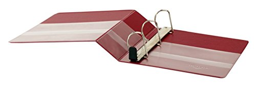 Office Depot(R) Brand Heavy-Duty D-Ring View Binder, 3in. Rings, 54% Recycled, Dark Red by Office Depot (Image #3)
