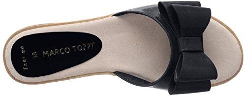 Blau Pantoletten Patent Schwarzes Tozzi Schwarz 018 Marco 27120 Damen qnPHxT
