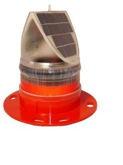 Sealite Solar Led Crane Light Red 2.5nm 360 Degree by Sealite