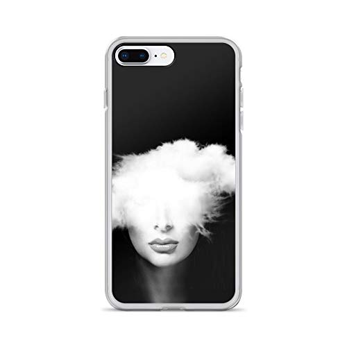 iPhone 7 Plus/8 Plus Case Anti-Scratch Motion Picture Transparent Cases Cover Head in The Clouds Action Movies Video Film Crystal Clear