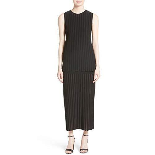 Diane von Furstenberg Tiered Knit Maxi Dress, Black, - Furstenberg Diane Long Von Dress