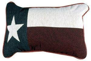 Simply Home Texas State Flag Tapestry Throw Pillow, Multicolor