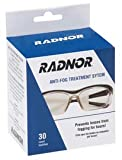 Radnor 5'' X 8'' Anti-Fog Treatment Towelettes (30/Box) (9 Boxes)