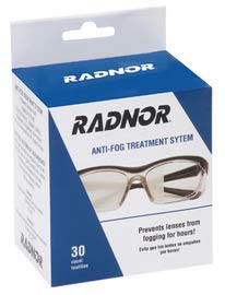 Radnor 5'' X 8'' Anti-Fog Treatment Towelettes (30/Box) (9 Boxes) by Radnor Safety (Image #1)