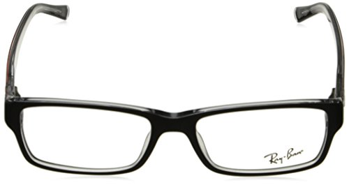 Transparent On Ray Black New Black Frame RB Plastic lunettes 2034 Crystal Ban RX 2034 5169 ZwUTAHx