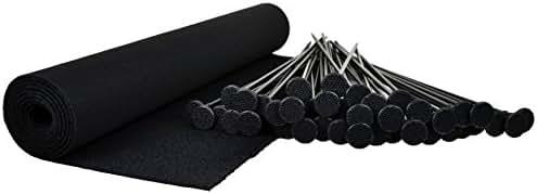 Gun Storage Solutions Rifle Shotgun Plastic Rods Kit Bundle Shelf Liner Rack Safe Accessory Organizer with Nylon Woven Loop Fabric