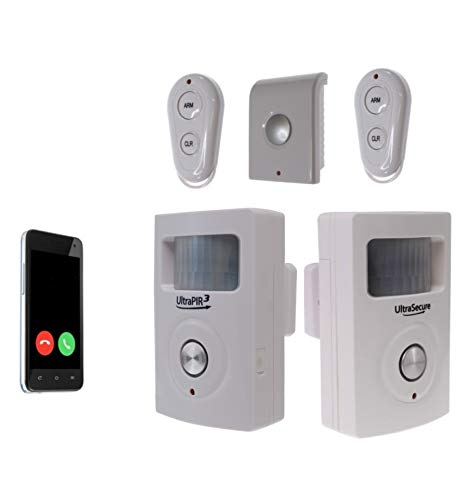 Two Room 3G UltraPIR GSM Alarm & Extra Siren