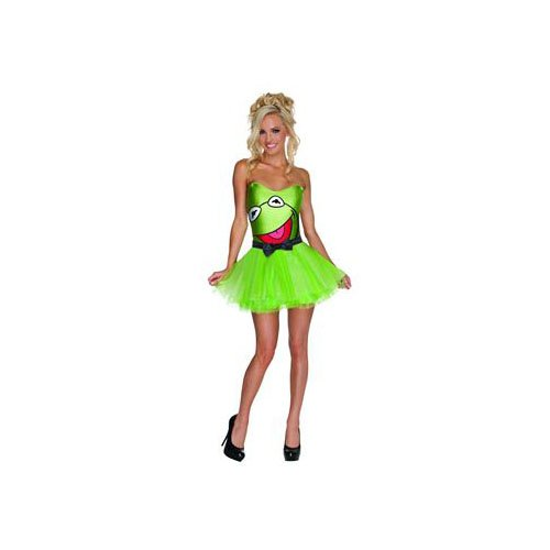 Kermit the Frog Costume - X-Small - Dress Size 2-6