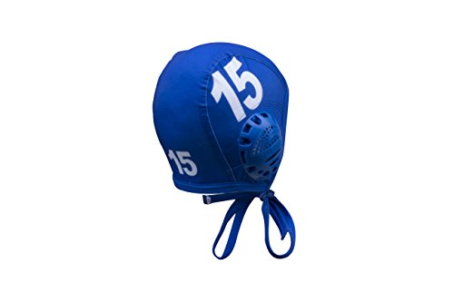 KAP7 Turbo Standard Water Polo Cap Set with 3 Numbers (Royal)