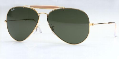 Ray-Ban RB3029 L2112 Outdoorsman II Gold 62mm by Ray-Ban