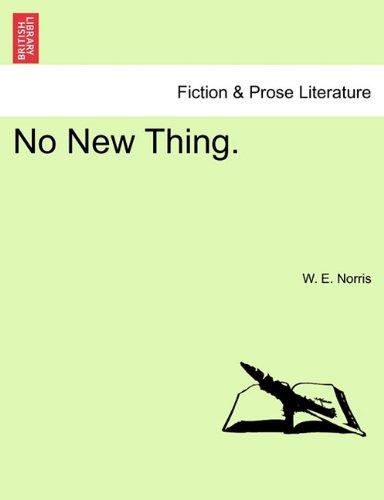 No New Thing. PDF
