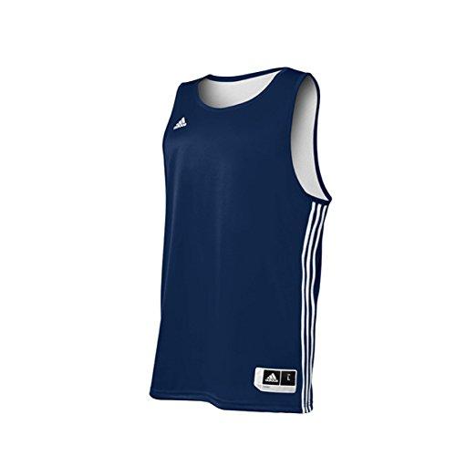 Adidas Mens Reversible Basketball Practice Jersey 4XL Nav...