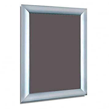 187d03e3a258 Aluminium Silver A4 A3 A2 A1 A0 Mitred Snap Frames Wall Posters Holder  Click Frame Picture Clip Display Retail Wall Notice Boards (A2 Portrait)   ...