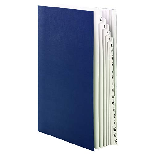 (Smead Desk File/Sorter, Alphabetic (A-Z) and 1-20, 20 Dividers, Legal Size, Blue (89237))