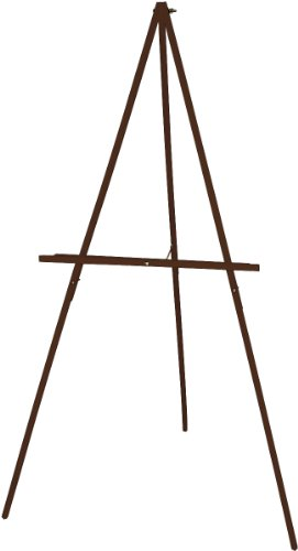 Art Advantage Floor Display Easel, Stained]()