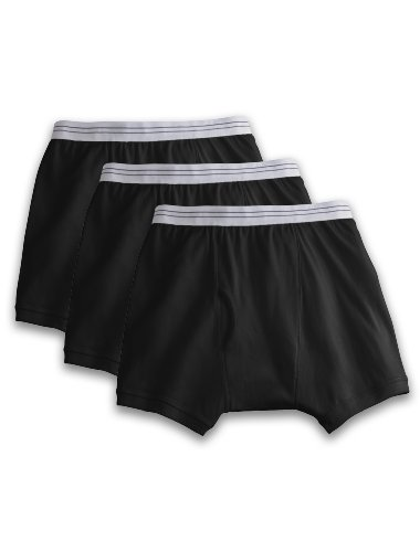 Harbor Bay Big And Tall (Harbor Bay by DXL Big and Tall Knit Boxer Briefs 3-Pack)