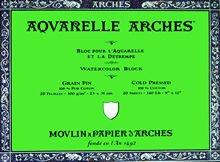 Arches Aquarellblock, 12 x 16 Rau B0067JQ2SC | Online-Exportgeschäft