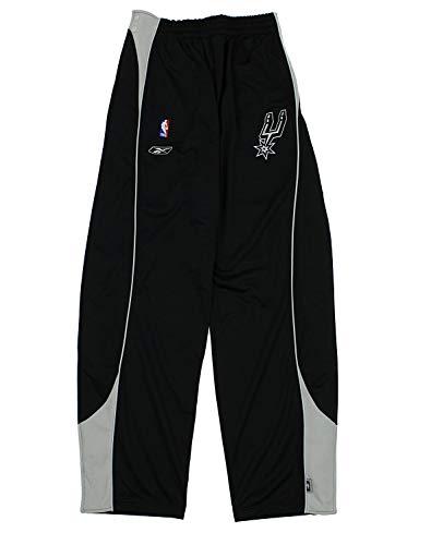 Reebok San Antonio Spurs NBA Mens Big & Tall Tearaway Pants, Black 2XLT +4 Inches (Antonio San Spurs Reebok)