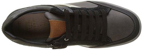 Arzach Adulte black Sneakers Geox Grey Mixte I Dk Basses Gris PSUnUdx