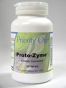 Priority One Vitamins Protozyme tabs