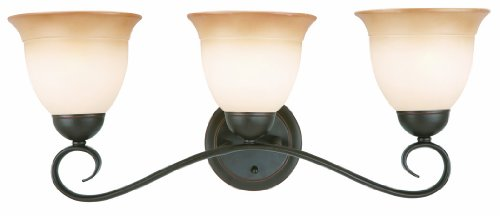 Design House 512665 Cameron 3 Light Vanity Light, Oil