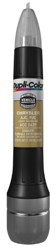 Dupli-Color ACC0437 Metallic Light Khaki Chrysler Exact-Match Scratch Fix All-in-1 Touch-Up Paint - 0.5 oz (0.25 oz. paint color and 0.25 oz. of clear)